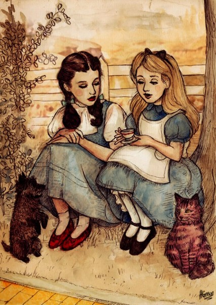 Dorothy & Alice Fan Casting Poster