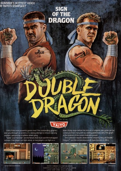 Double Dragon Fan Casting Poster