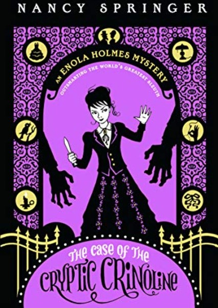Enola Holmes: The Case of the Cryptic Crinoline Fan Casting Poster