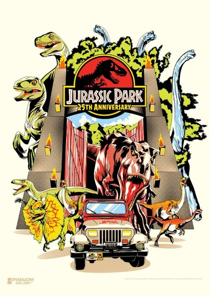Escape from Jurassic Park: The Animated Series Fan Casting Poster