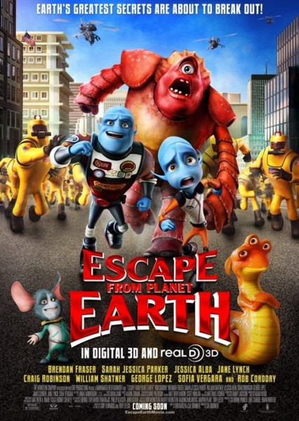 Escape from Planet Earth Fan Casting Poster