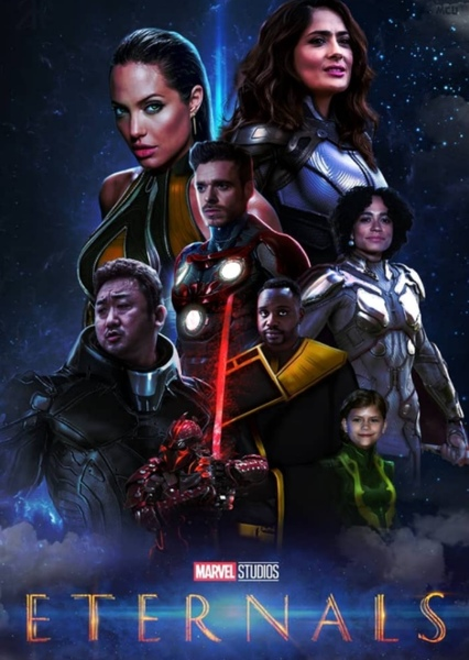 Resultado de imagen para the eternals poster 2020