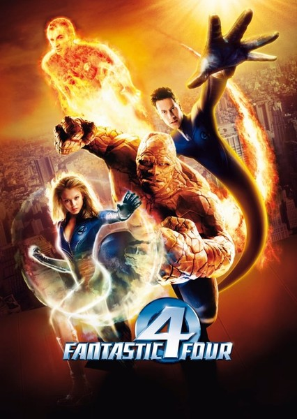 Fantastic Four Fan Casting Poster