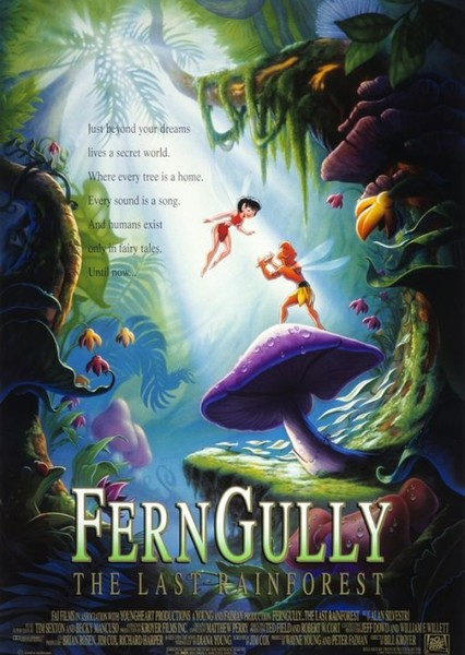 FernGully: The Last Rainforest Fan Casting Poster