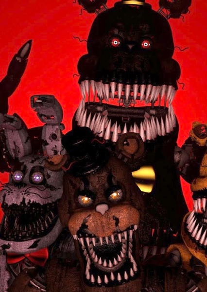 Five Nights At Freddy's 4: The Movie Fan Casting Poster