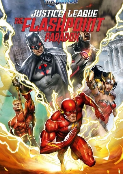 Justice League: The Flashpoint Paradox Fan Casting Poster
