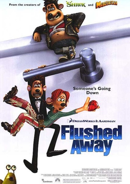 Flushed Away Fan Casting Poster