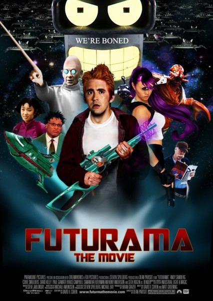 Futurama (2021 Movie) Fan Casting Poster