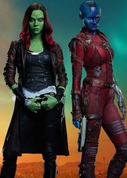 Gamora and Nebula (TV Series) Fan Casting Poster