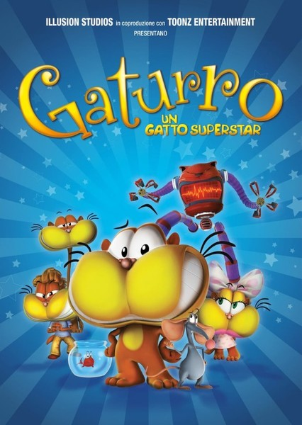 Gaturro (TV Series) Fan Casting Poster