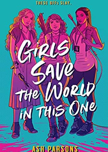 Girls Save The World In This One Fan Casting Poster