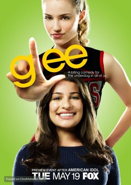 Glee (Nickelodeon) Fan Casting Poster