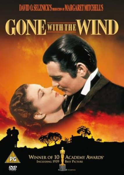 Gone With the Wind Fan Casting Poster
