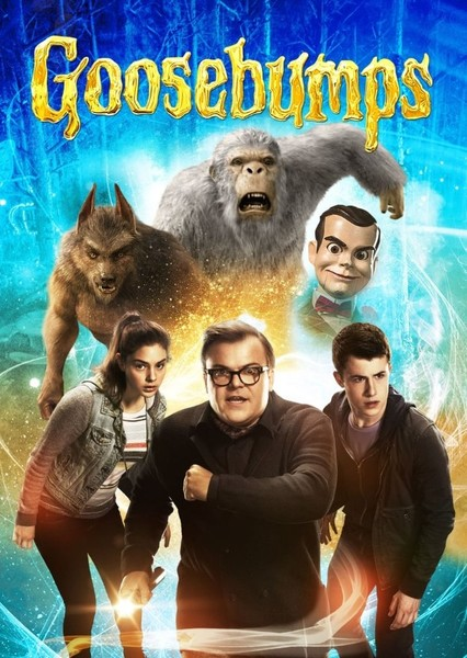 Goosebumps (My Version)  Monsters Fan Casting Poster