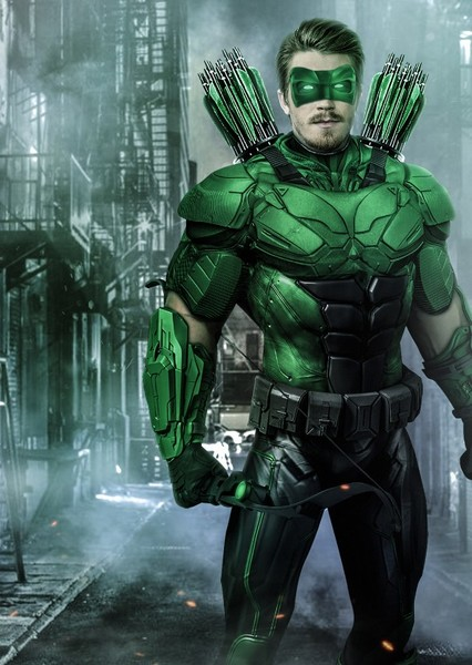 Green Arrow World Of DC Fan Casting Poster