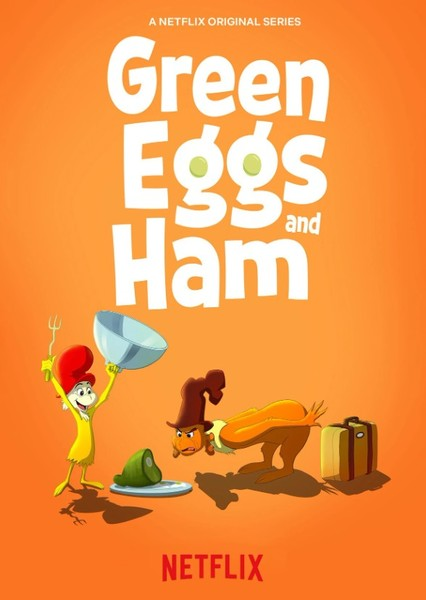 Green Eggs and Ham (Illumination Version) Fan Casting Poster