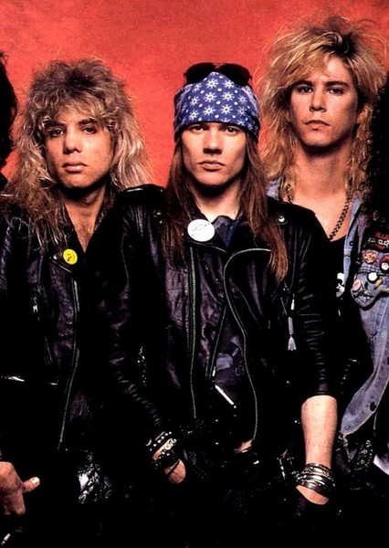Guns N'Roses Biopic Fan Casting Poster