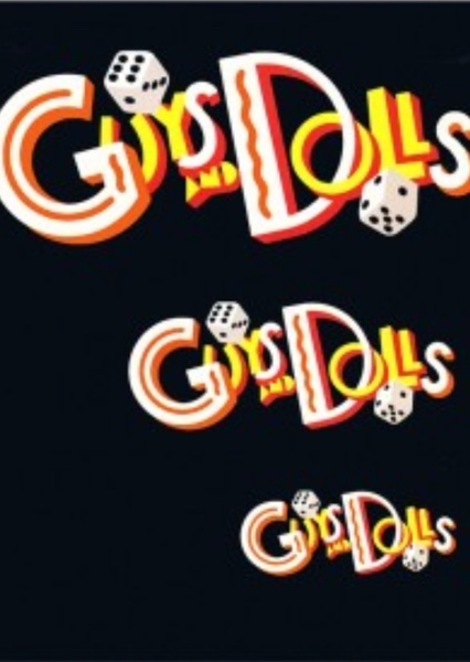 Guys and Dolls Fan Casting Poster