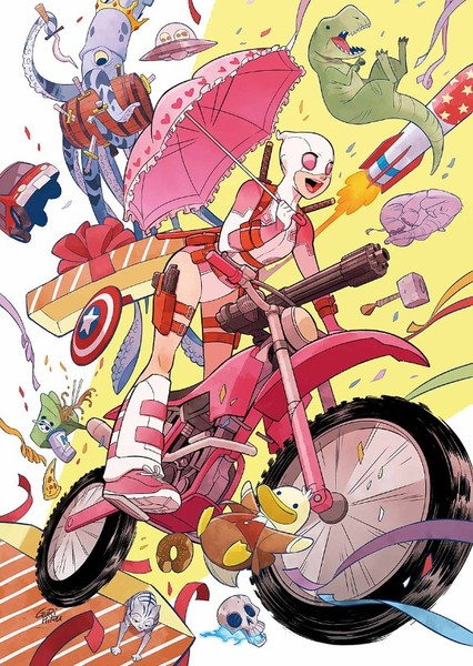 Gwenpool: The Animated Series Fan Casting Poster