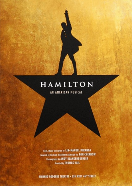 Hamilton: An American Movie Fan Casting Poster