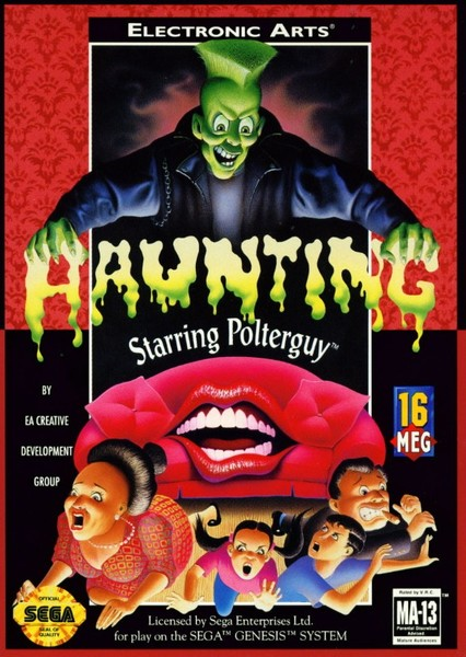 Haunting - Starring Polterguy Fan Casting Poster