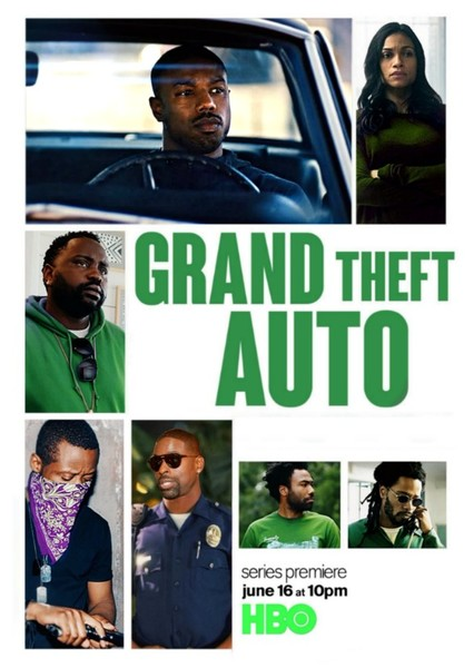 HBO's Grand Theft Auto (Season III)  Fan Casting Poster