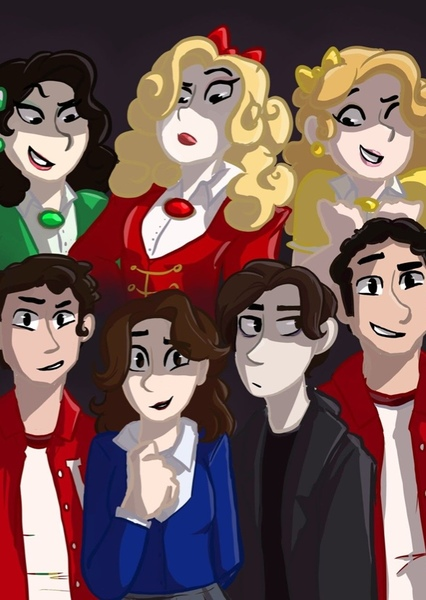 Heathers: the musical movie  Fan Casting Poster