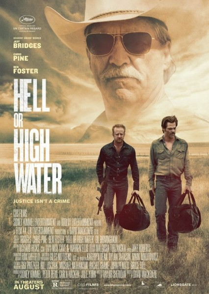 Hell or High Water (1980's) Fan Casting Poster