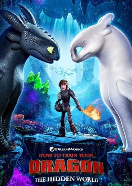 How to Train Your Dragon: The Hidden World Fan Casting Poster