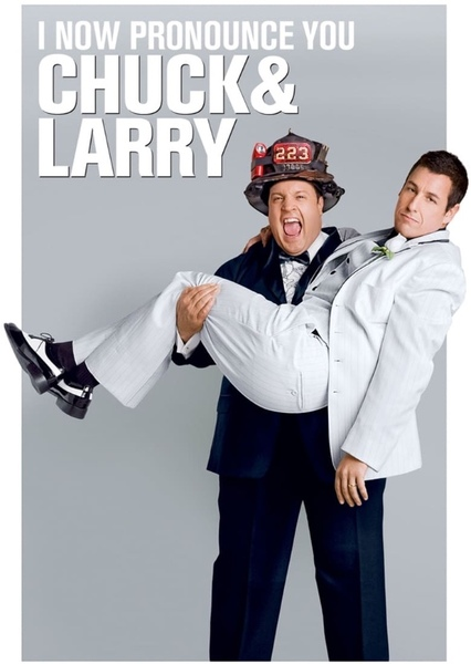 I Now Pronounce You Chuck and Larry (Remake) Fan Casting Poster