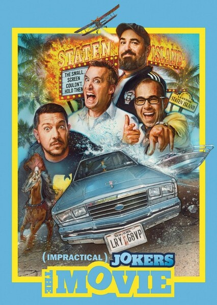 Impractical Jokers Bio Fan Casting Poster