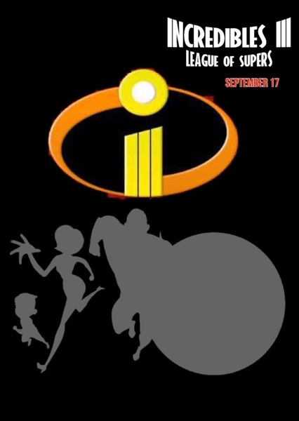 Incredibles 3 Fan Casting Poster