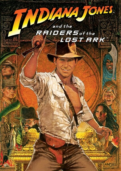 Indiana Jones and the Raiders of The Lost Ark (1997) Fan Casting Poster