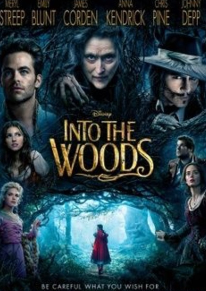 Into the Woods film (Genderswap) Fan Casting Poster