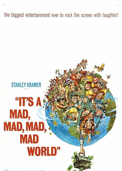 It's a Mad, Mad, Mad, Mad World Fan Casting Poster