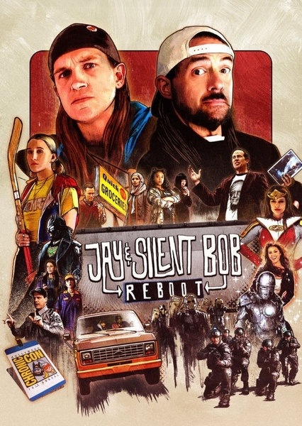 Jay and Silent Bob Recast Fan Casting Poster