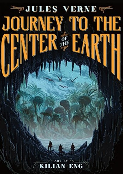 Journey to the Center of the Earth Fan Casting Poster