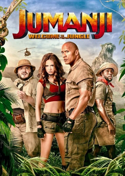 Jumanji: Welcome To The Jungle Fan Casting Poster