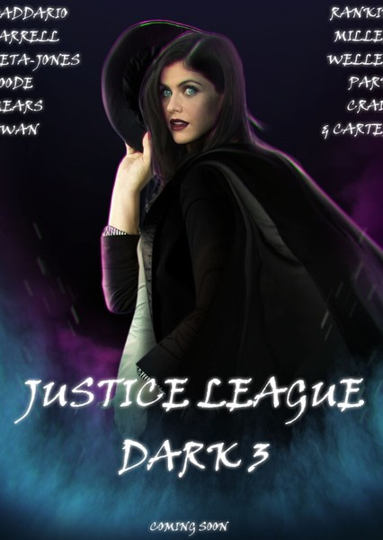 Justice League Dark 3 (2046) Fan Casting Poster