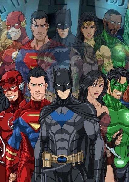Justice League: Next Generation Fan Casting Poster