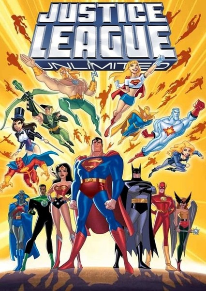 Justice League Unlimited Fan Casting Poster
