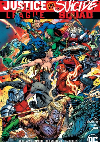 Justice League vs Suicide Squad Fan Casting Poster