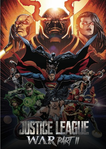 Justice League War - Part 1 & 2 Fan Casting Poster