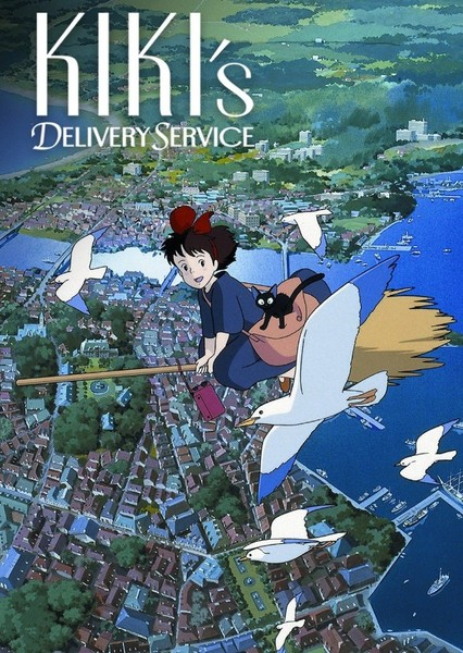 Kiki's Delivery Service Fan Casting Poster