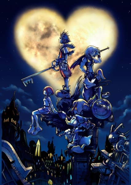 Kingdom Hearts Remake Fan Casting Poster