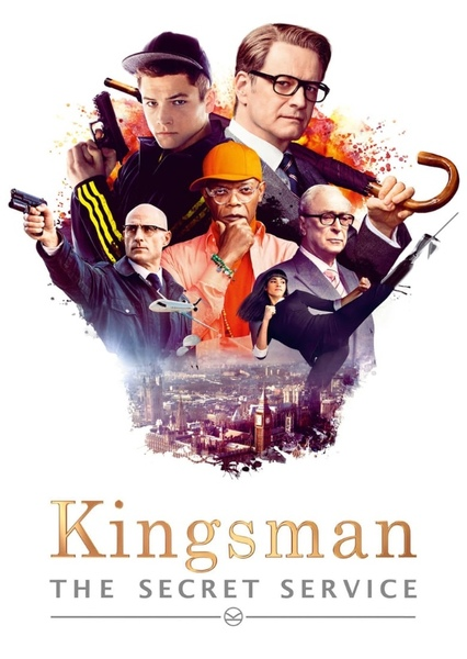 Kingsman: The Secret Service (1993) Fan Casting Poster