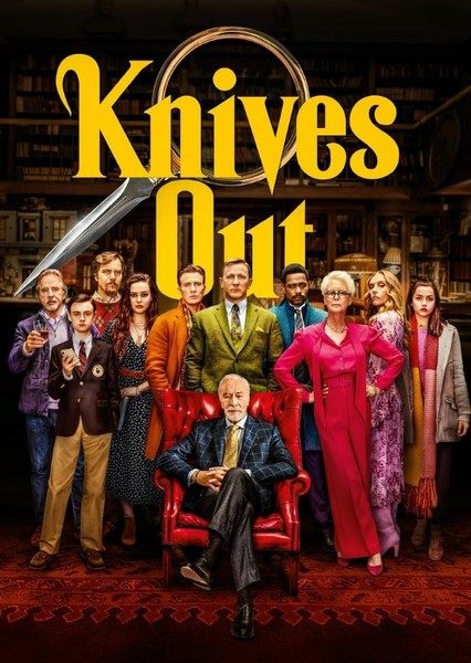 Knives Out (My Cast) Fan Casting Poster