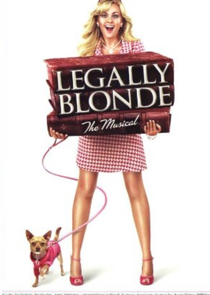 Legally Blonde (musical) Fan Casting Poster