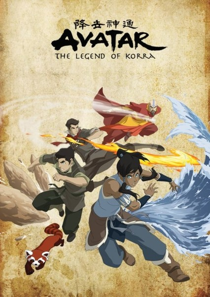 Legend of Korra (Live Action Film) Fan Casting Poster