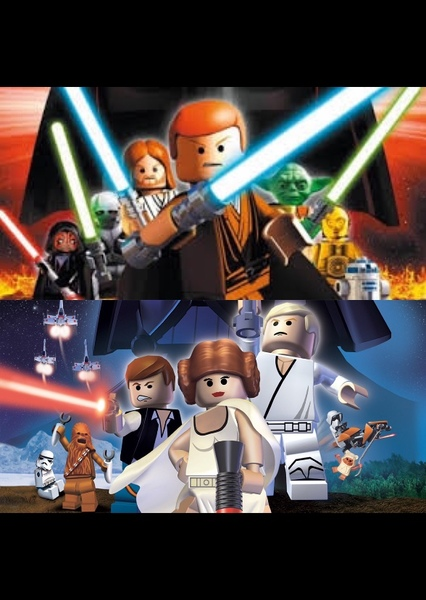 LEGO Star Wars: The Video Game And Original Trilogy Fan Casting Poster